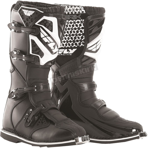 Fly Racing Black Maverik Boots - 364-56115