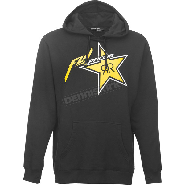 Fly Racing Black Rockstar Hoody - 354-6290M