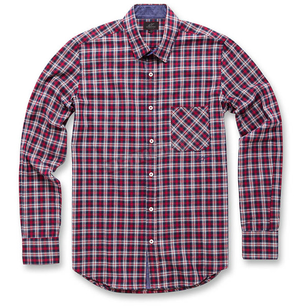 Alpinestars Red Enduro Long Sleeve Shirt  - 103631001-30-2X