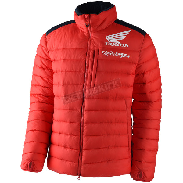 Troy Lee Designs Red Honda Puff Jacket - 703515434