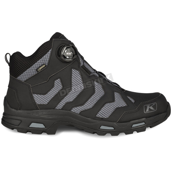 Klim Black/Gray Transition GTX Boa Boots - 3094-001-008-000