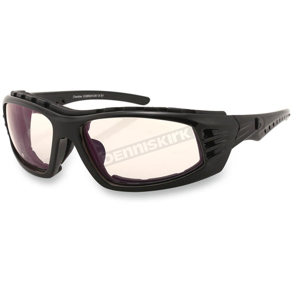Bobster Chamber Sunglasses w/Clear Anti-Reflective Lens - ECBR001CR