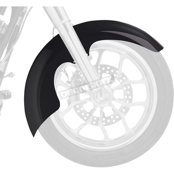 Klock Werks Aero Tire Hugger Series Front Fender Kit for 21 Inch Wheels - 1402-0344
