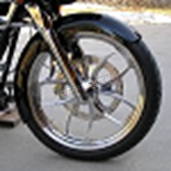Russ Wernimont Designs 5.5 in. Wide Front Fender w/Raw Spacers - RWD-50129