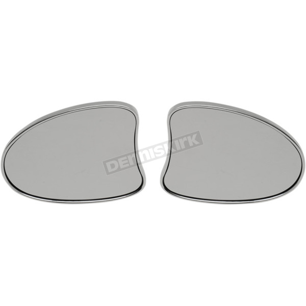 Drag Specialties Deluxe Fairing Mount Mirros - 0640-1096