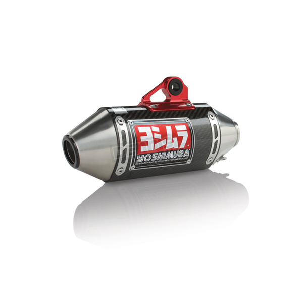 Yoshimura Mini RS-2 Race Series Stainless/Carbon Fiber/Stainless Works Finish Complete Exhaust System - 12121AB250