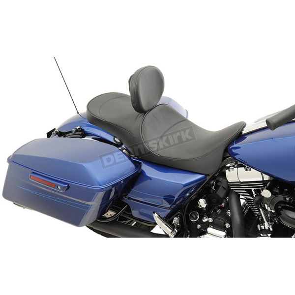 Drag Specialties Mild Stitch Low Profile Touring Seat - 0801-1007