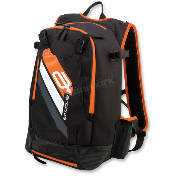 Black/Orange Technical Hydration Backpack - 3519-0047