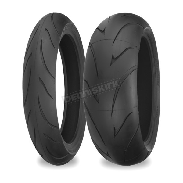 Shinko 011 Front & Rear Verge Tire