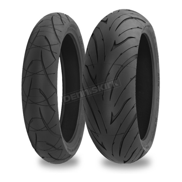 Shinko F016 Verge 2X Blackwall Tire