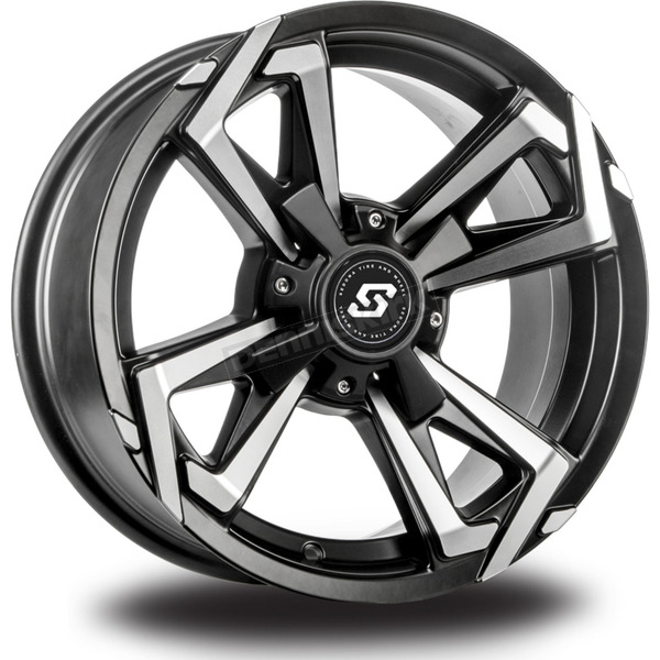 Sedona Front/Rear Riot 14x7 Wheel - 570-1264