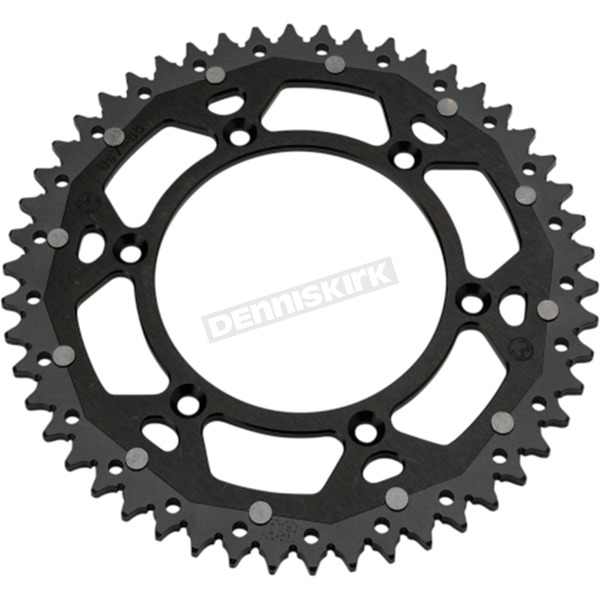 Moose 48 Tooth Black Dual Rear Sprocket - 1210-1460