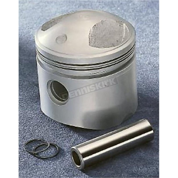 Drag Specialties High Compression Piston - 3.437 in. Bore/8.5:1 Ratio - DS-750700