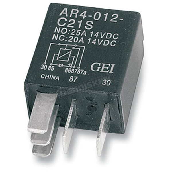 Drag Specialties Micro Starter Relay - DS-325849