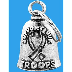 Hot Leathers Support Our Troops Guardian Bell - BEA1033