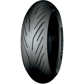 Michelin Rear Pilot Power 3 180/55ZR-17 Blackwall Tire - 36816