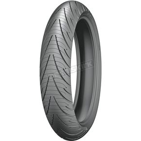 Michelin Front Pilot Road 3 120/70ZR-18 Blackwall Tire - 30306
