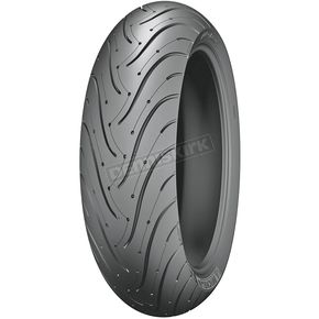Michelin Rear Pilot Road 3 180/55ZR-17 Blackwall Tire - 16808