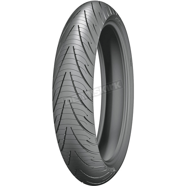 Michelin Front Pilot Road 3 110/80VR/19 Blackwall Tire - 93542