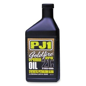 PJ1 Liter Goldfire Pro 2-Stroke Racing Oil - 8161L