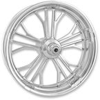 Chrome 23 in. x 3.5 in. Dixon Front Wheel for Models w/o ABS (dual disc) - 12027306RDIXCH
