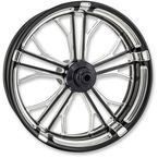 Platinum Cut 23 in. x 3.5 in. Dixon Front Wheel for Models w/o ABS (dual disc) - 12027306RDIXBMP
