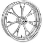 Front Chrome 21 x 3.5 Paramount One-Piece Chrome-Forged Aluminum Wheel - 12047106PARJCH
