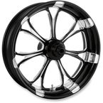 Front Platinum Cut 23 x 3.5 Paramount One-Piece Wheel w/ABS - 12237306RPARBMP