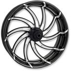 Platinum Cut 23 in. x 3.5 in. Supra Front Wheel for Models w/o ABS (dual disc) - 12027306RSUPBMP