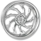 Chrome 21 x 3.5 Torque One-Piece Wheel for Models w/ABS - 1204-7106R-TOR