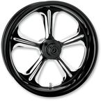 Front Platinum Cut 21 x 3.5 Wrath One-Piece Chrome-Forged Aluminum Wheel - 12047106WRAJBMP