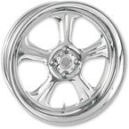 Chrome 18 x 5.5 Wrath One-Piece Wheel - 1256-7814R-WRA