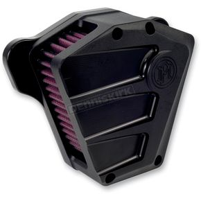 Performance Machine Black Ops Scallop Air Cleaner - 0206-2087-SMB