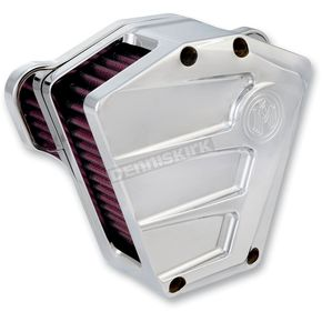 Performance Machine Chrome Scallop Air Cleaner - 0206-2083-CH