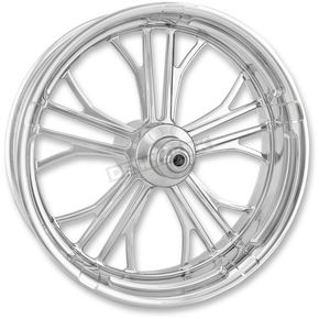 Performance Machine Chrome 21 in. x 3.5 in. Dixon Front Wheel for Models w/ ABS (dual disc) - 12047106RDIXCH