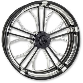 Performance Machine Platinum Cut 23 in. x 3.5 in. Dixon Front Wheel for Models w/ABS (dual disc) - 12047306RDIXBMP