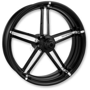Performance Machine Front Platinum Cut 21 x 3.5  Formula One-Piece Aluminum Wheel - 1202-7106R-FRMAJ-BMP