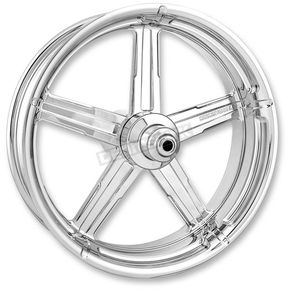 Performance Machine Front Chrome 23 x 3.5 Formula One-Piece Aluminum Wheel - 1204-7306R-FRM-BM