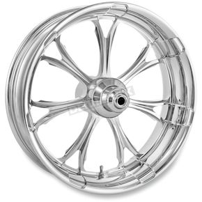 Front Chrome 21 x 3.5 Paramount One-Piece Chrome-Forged Aluminum Wheel (ABS Models) - 12047106PARJCH