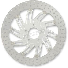 Performance Machine 13 in. Supra Polished Two-Piece Brake Rotor - 01333015SUPLS