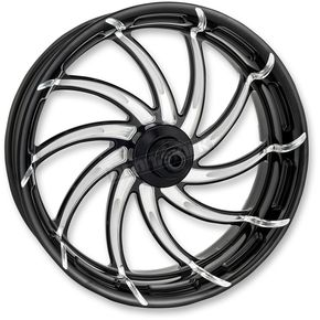 Performance Machine Platinum Cut 21 in. x 3.5 in. Supra Front Wheel for Models w/o ABS (dual disc) - 12027106RSUPBMP
