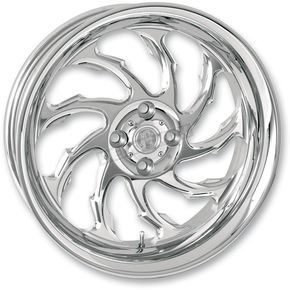 Performance Machine Chrome 18 x 8.5 Custom Torque Wheel for 1 in. Axle - 1274-7825R-TOR1