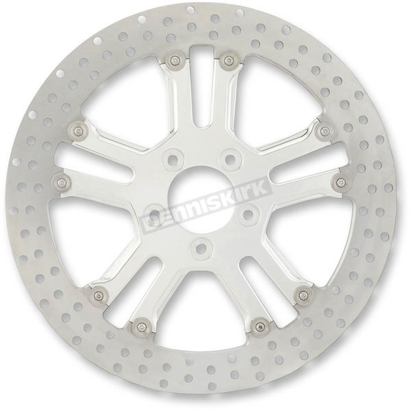 Performance Machine 13 in. Dixon Chrome Two-Piece Brake Rotor - 01333015DIXS