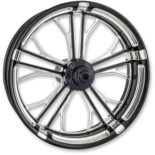 Performance Machine Platinum Cut 21 in. x 3.5 in. Dixon Front Wheel for Models w/o ABS (dual disc) - 12027106DIXAJBP