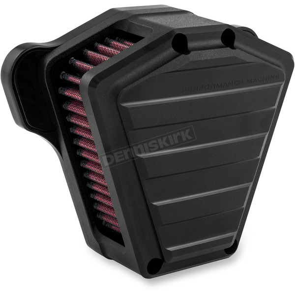 Performance Machine Black Ops Drive Air Cleaner - 0206-2116-SMB