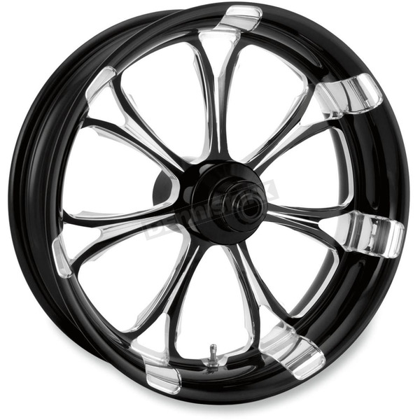 Performance Machine Platinum Cut 18 x 5.5 Paramount One-Piece Wheel for Models w/o ABS - 12707814RPARBMP