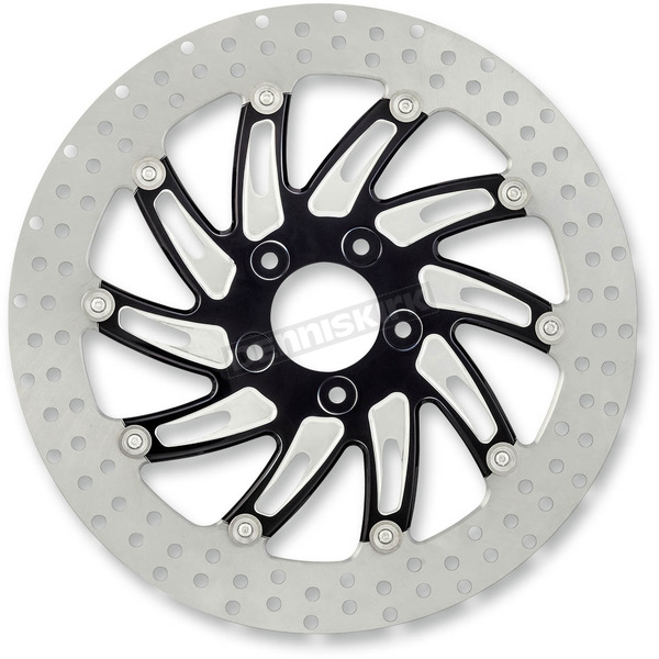 Performance Machine 13 in. Supra Platinum Cut Two-Piece Brake Rotor - 01333015SUPLSBP