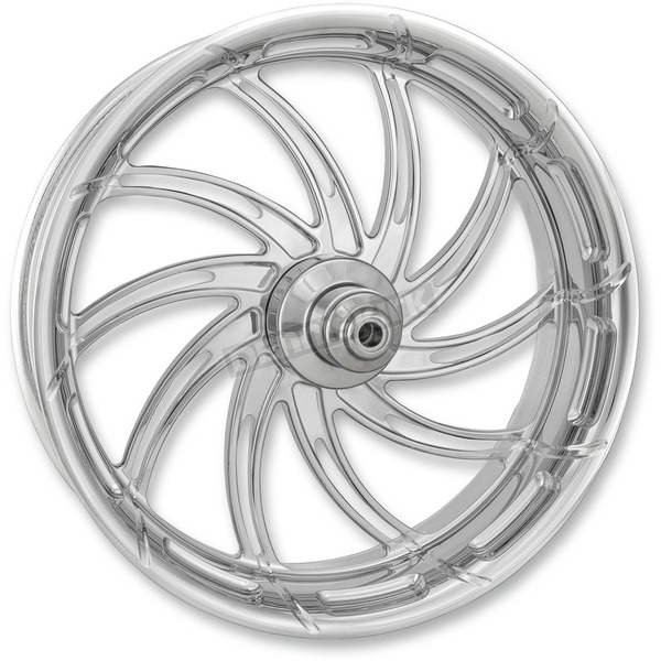 Performance Machine Chrome 18 in. x 5.5 in. Supra Rear Wheel for Models w/o ABS - 12707814RSUPCH