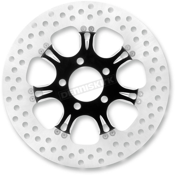 Performance Machine 11 1/2 in. Rear Virtue Platinum Cut Two-Piece Brake Rotor - 01331523VIRSBMP