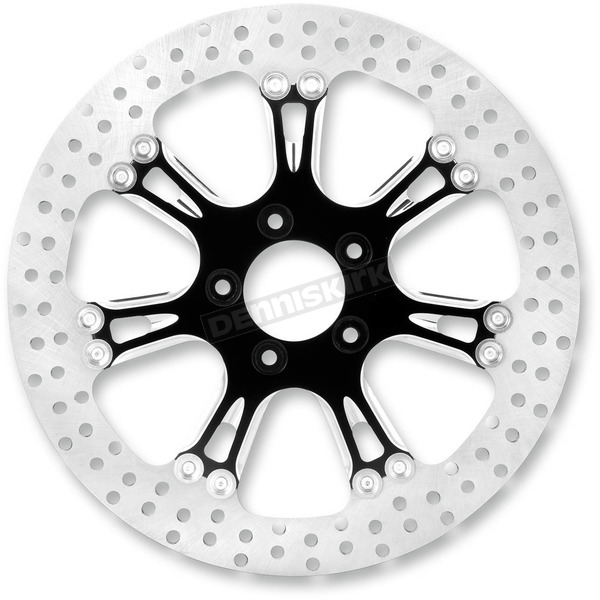 Performance Machine 13 in. Front Virtue Platinum Cut Two-Piece Brake Rotor - 01333015VIRSBMP